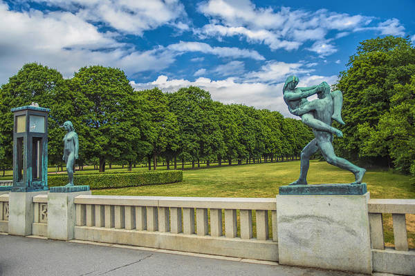 Photograph - Vigeland Park by Mick Burkey