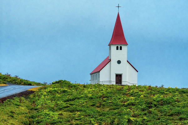 Photograph - Vik Church by Tom Singleton
