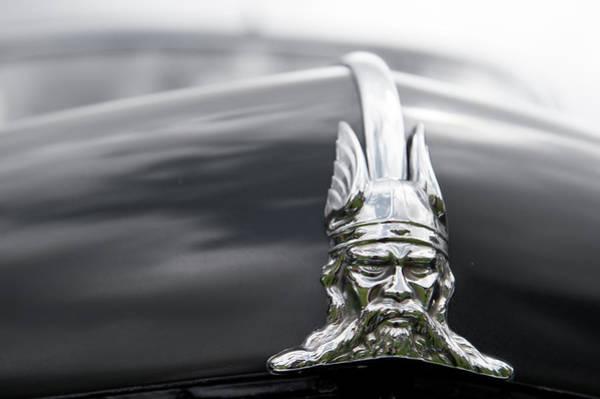 Photograph - Viking Hood Ornament by Helen Northcott