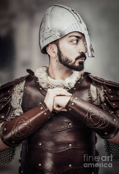 Game Of Thrones Photograph - Viking Warrior by Amanda Elwell