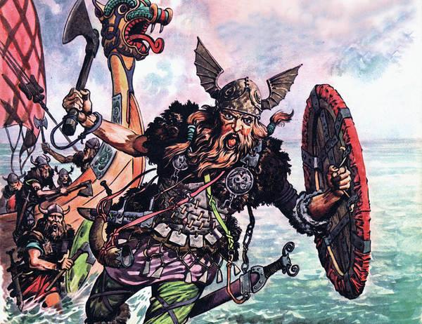 Nordic Painting - Vikings by Peter Jackson