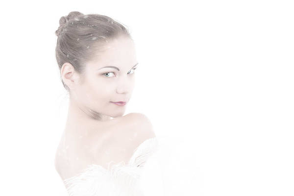 Photograph - Viktory In White by Rikk Flohr