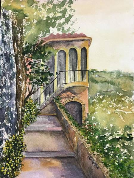 Painting - Villa Bella by Florence Ferrandino