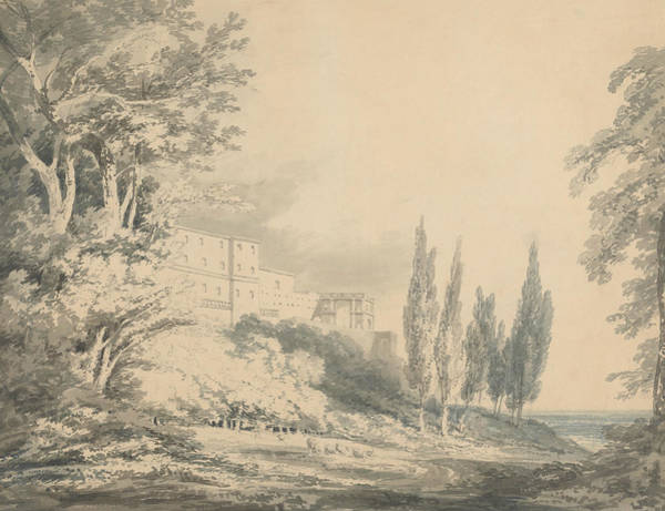 Painting - Villa D'este by Joseph Mallord William Turner