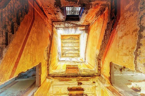 Photograph - Villa Giallo Atmosfera Escher II - Escher Atmosphere II by Enrico Pelos