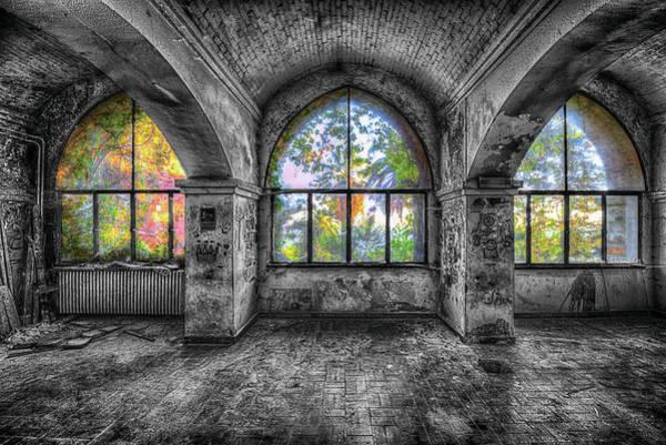 Photograph - Villa Of Windows On The Sea - Villa Delle Finestre Sul Mare I by Enrico Pelos