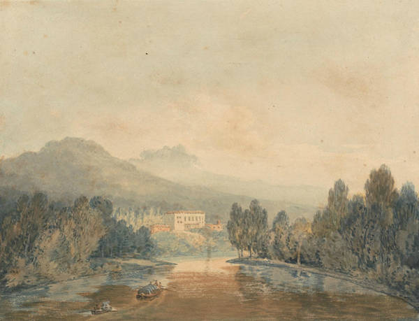 Painting - Villa Salviati On The Arno by Joseph Mallord William Turner