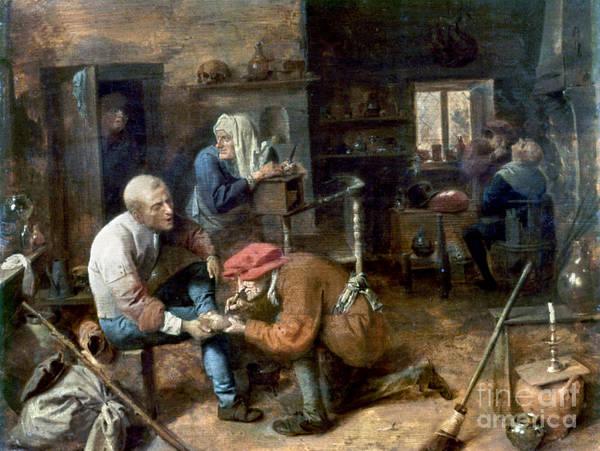 Photograph - Village Barber-surgeon by Granger