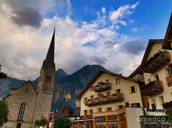 Photograph - Village Hallstatt by Jacqueline Faust