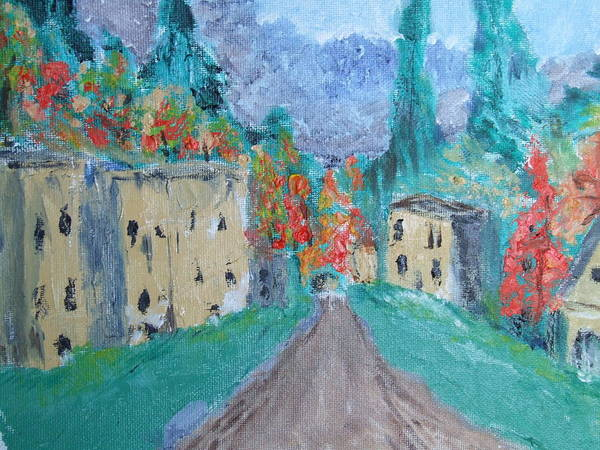 James Johnson Painting - Village by James Johnson