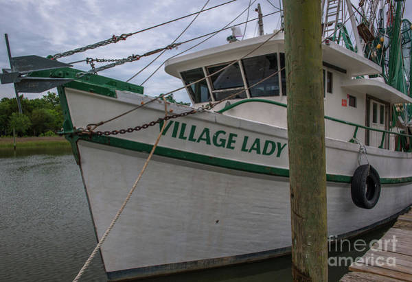 Photograph - Village Lady Shrimp Boat by Dale Powell