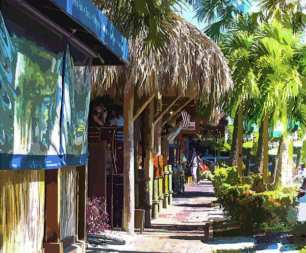 Photograph - Village Life II - Siesta Key by Susan Molnar