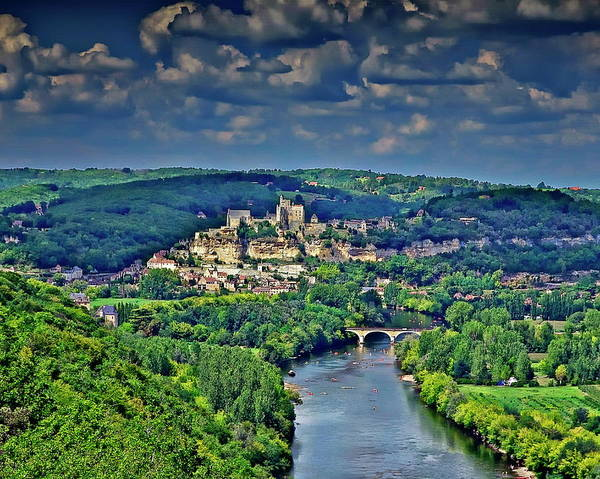 Photograph - Village Of Beynac by Anthony Dezenzio