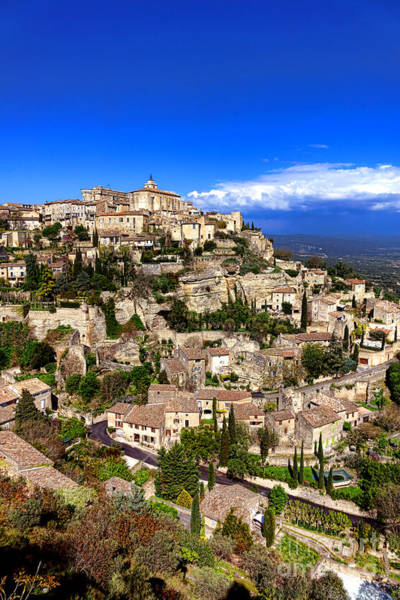 Wall Art - Photograph - Village Of Gordes In Provence by Olivier Le Queinec