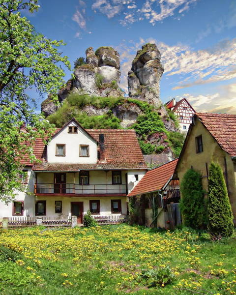 Photograph - Traditional German House by Anthony Dezenzio