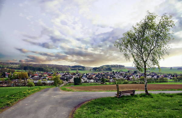 Photograph - Village Of Vielbach by Anthony Dezenzio