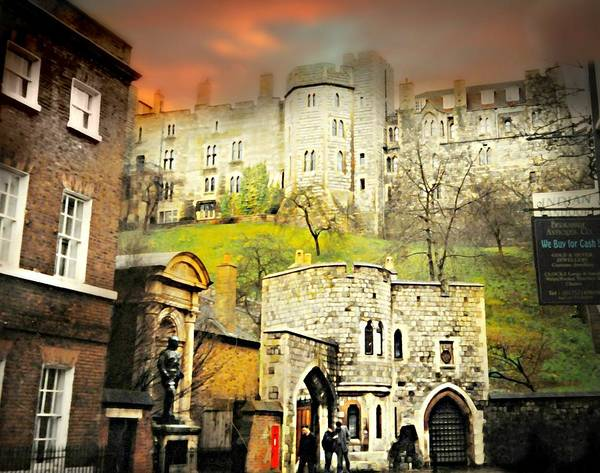 Prince Charming Wall Art - Photograph - Windsor Castle Wedding by Diana Angstadt