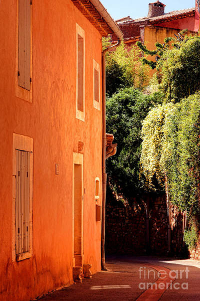 Wall Art - Photograph - Village Street In Provence by Olivier Le Queinec