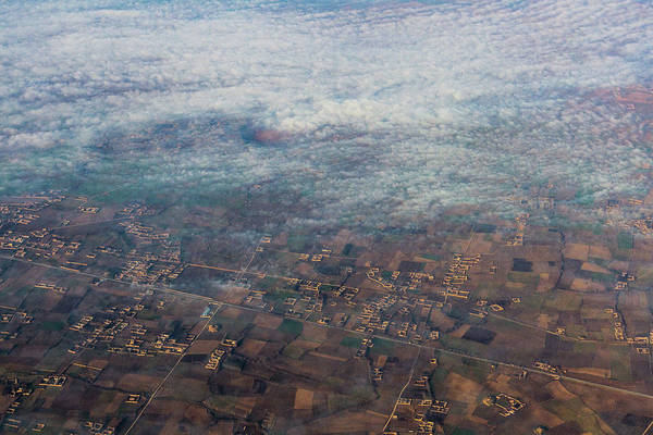 Photograph - Villages In The Mist by SR Green