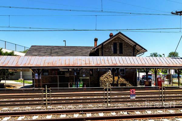 Photograph - Villanova Station by William Norton