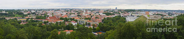 Photograph - Vilnius Panorama From The Hill Of Three Crosses by RicardMN Photography
