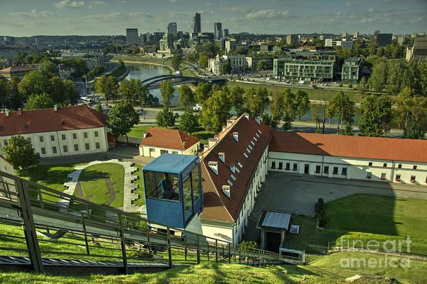 Wall Art - Photograph - Vilnius Skyline  by Rob Hawkins
