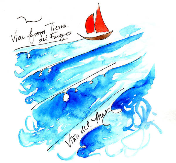 Painting - Vina Del Mar by Anna Elkins