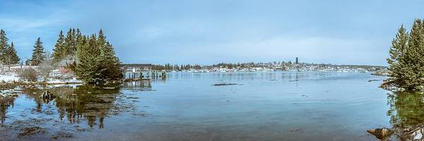 Wall Art - Photograph - Vinalhaven Harbor In Winter by Tim Sullivan