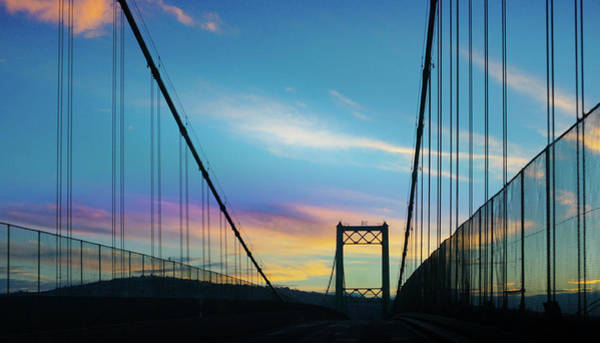 Wall Art - Photograph - Vincent Thomas Bridge by Art Spectrum