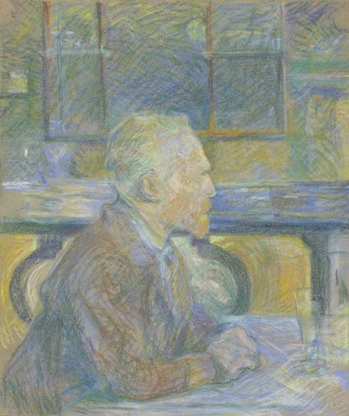 Wall Art - Painting - Vincent Van Gogh In Paris by Celestial Images
