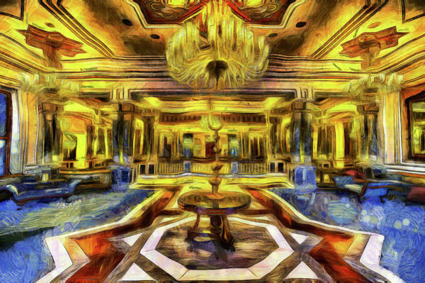 Empire Mixed Media - Vincent Van Gogh Palace by David Pyatt