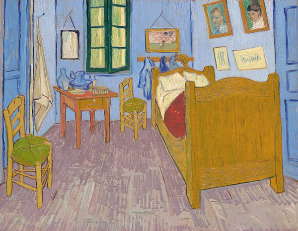 King Size Painting - Vincent's Bedroom In Arles, 1889 by Vincent Van Gogh
