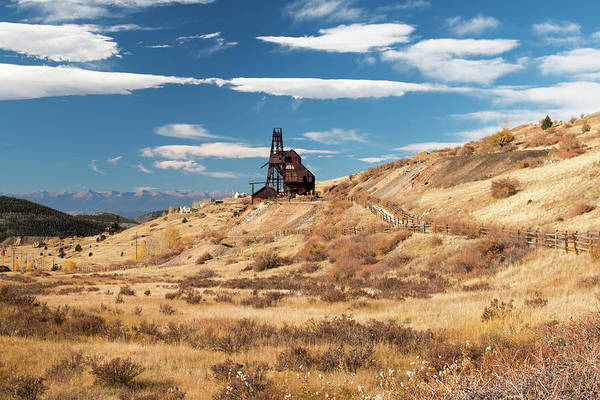 Photograph - Vindicator Valley Mine Trail by Kristia Adams