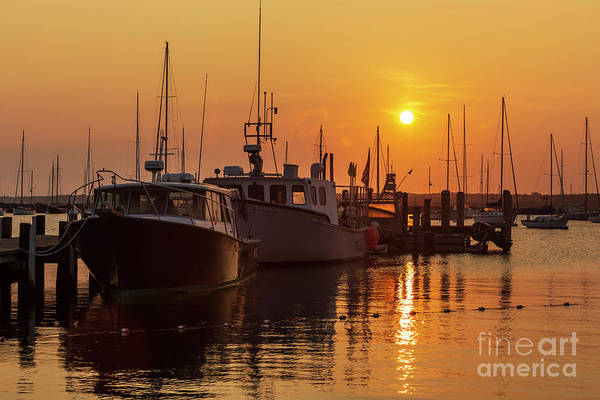 Wall Art - Photograph - Vineyard Haven Harbor Sunrise II by Clarence Holmes