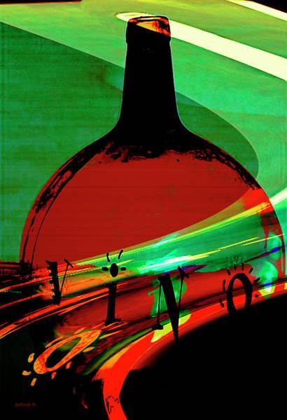 Mixed Media - Vino Rosso by Gerlinde Keating - Galleria GK Keating Associates Inc