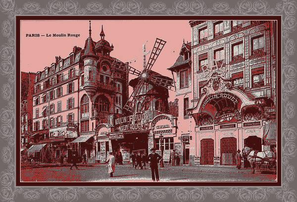 Photograph - Vintage 1900s Paris by Robert G Kernodle