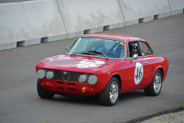 Whiskey Hill Wall Art - Photograph - Vintage 1974 Alpha Romeo Gtv by Mike Martin