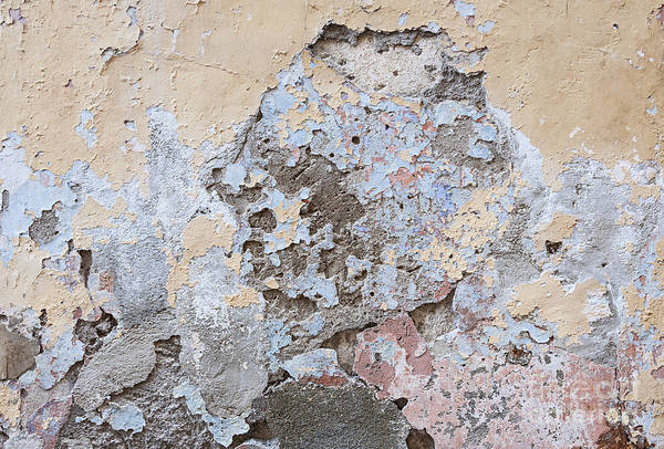 Crumbling Photograph - Vintage Abstract IIi by Elena Elisseeva