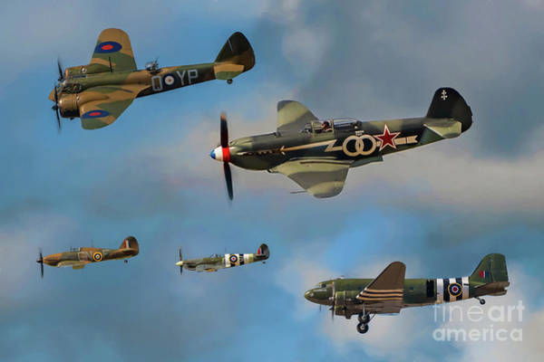 Photograph - Vintage Aircraft by Adrian Evans