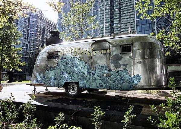 Caravan Photograph - Vintage Airstream by Martin Newman