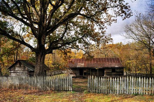 Photograph - Vintage Arkansas Homestead by Marty Koch