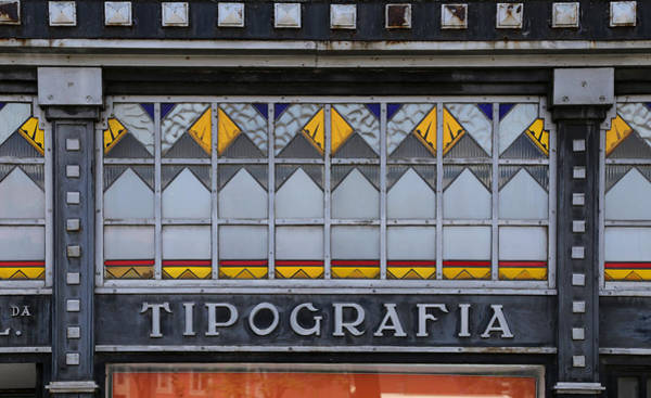 Photograph - Vintage Art Deco Sign by Andrew Fare