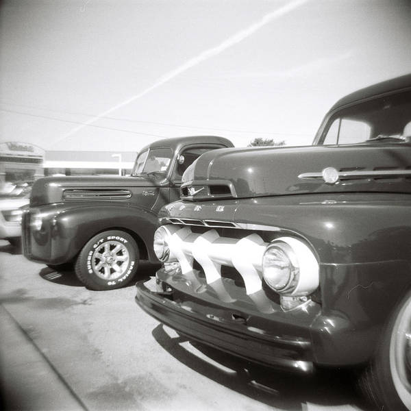 Photograph - Vintage Auto Lot by Jeff Folger