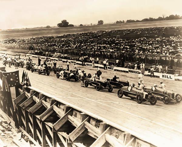 Wall Art - Photograph - Vintage Auto Race 1922 - Washington Dc by Bill Cannon