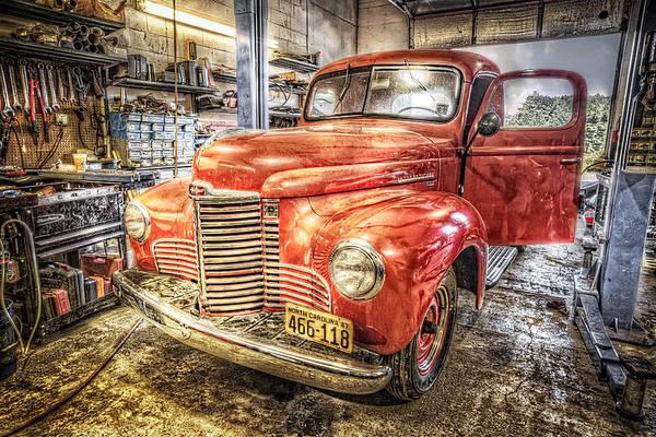 Wall Art - Photograph - Vintage Auto Service Garage by Debra and Dave Vanderlaan