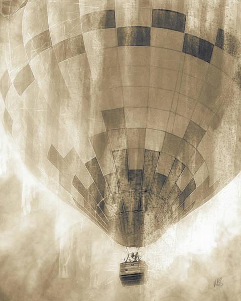 Wall Art - Mixed Media - Vintage Balloon by Melissa Smith