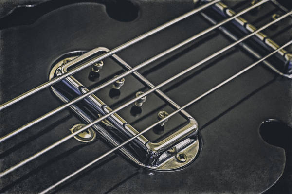 Wall Art - Photograph - Vintage Bass by Scott Norris