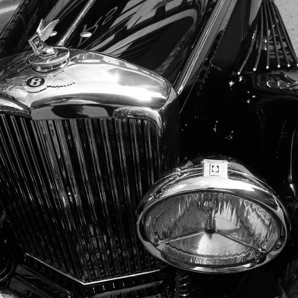 Photograph - Vintage Bentley 1 by Andrew Fare