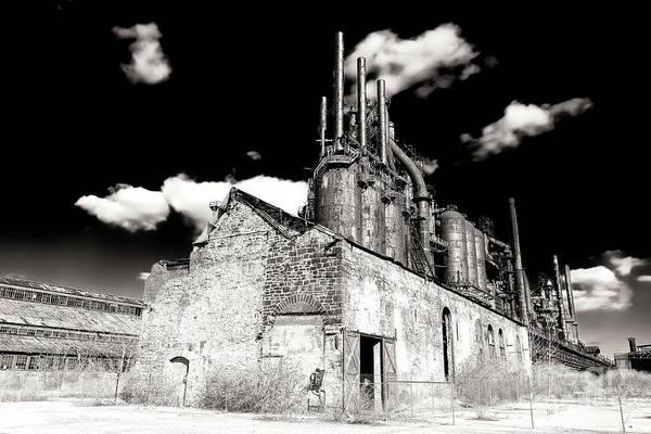 Photograph - Vintage Bethlehem Steel by John Rizzuto