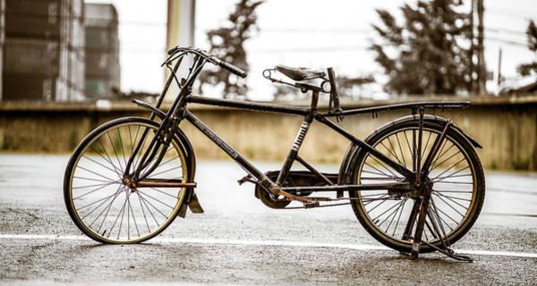 Photograph - Vintage Bike by Max Neivandt